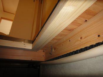床下の断熱材の施工忘れ