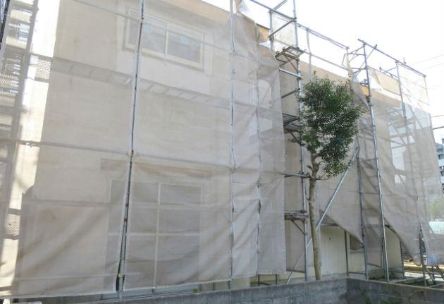 外壁の補修範囲