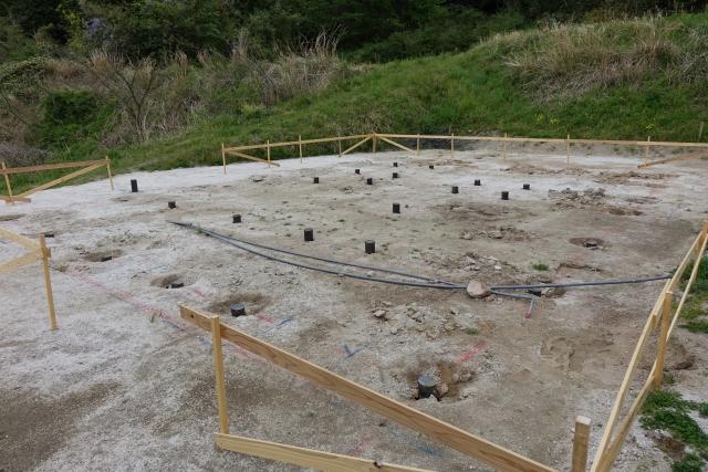 地盤改良工事の施工