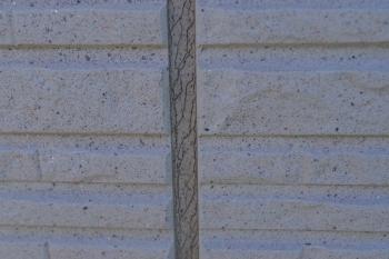 外壁材の継ぎ目のひび割れ・劣化